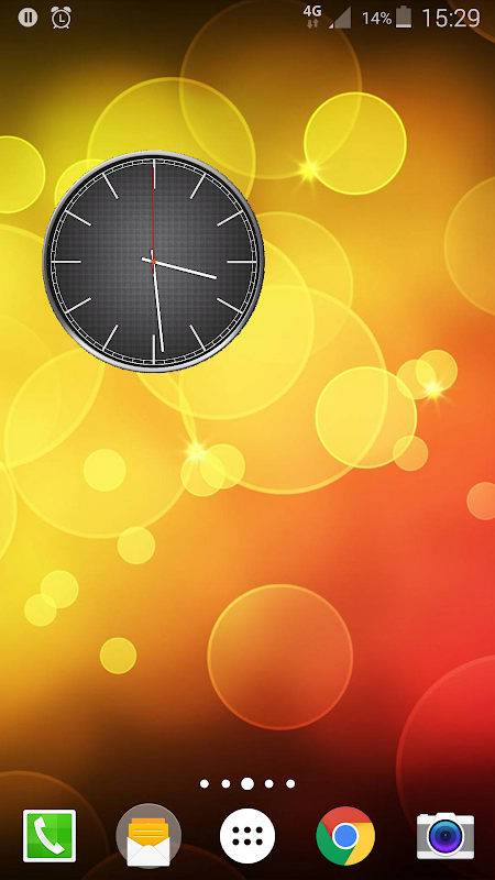 Battery Saving Analog Clocks Live Wallpaper 5.1 Screen 4