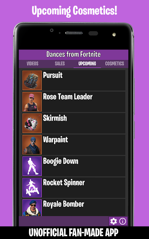 Dances from Fortnite (Ad-Free) 1.4 Screen 3