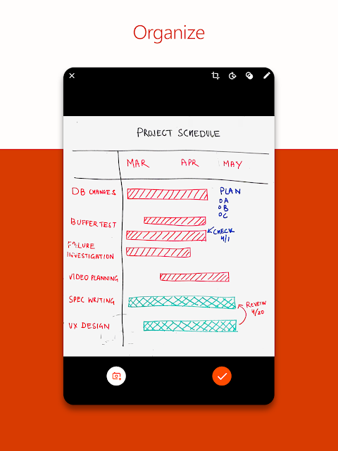 Android Microsoft Office Lens - PDF Scanner Screen 8