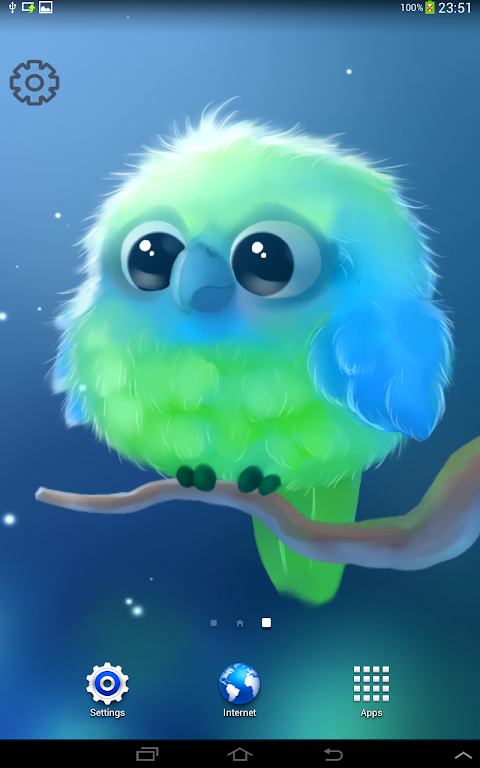 Android Kiwi The Parrot Screen 6