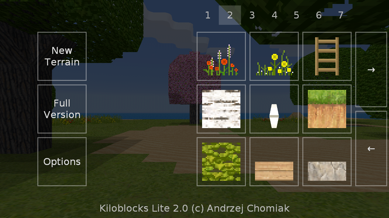 Exploration Lite 2.0.0 Screen 1