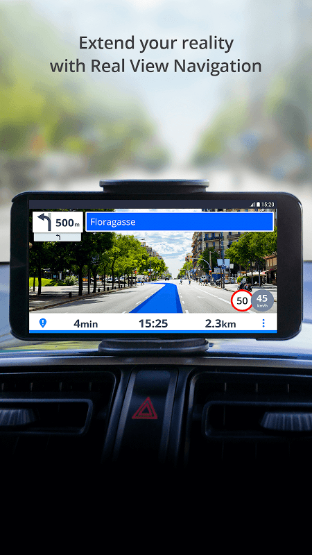 Android GPS Navigation & Maps Sygic Screen 4