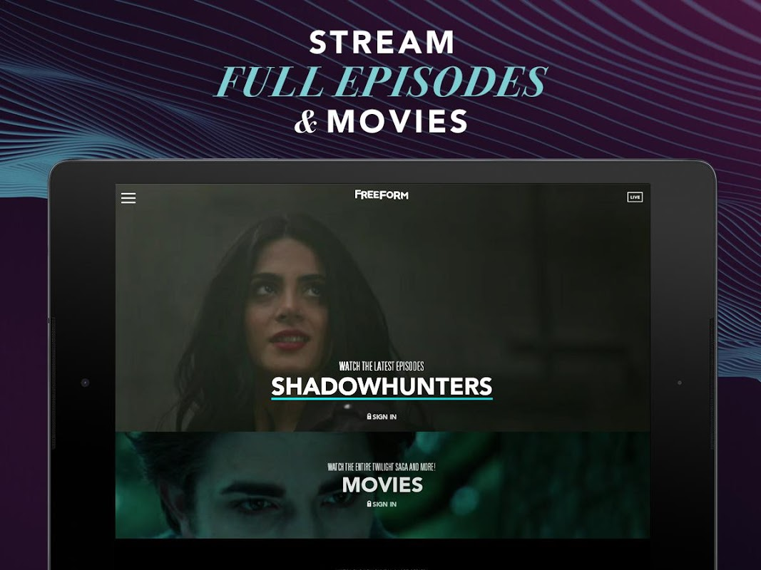 Android Freeform – TV & Full Episodes Screen 2