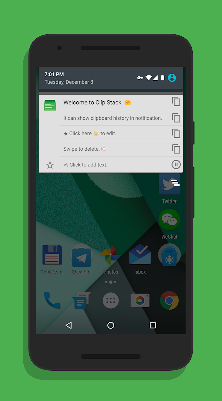Clip Stack - Clipboard Manager 1.9.2 Screen 2