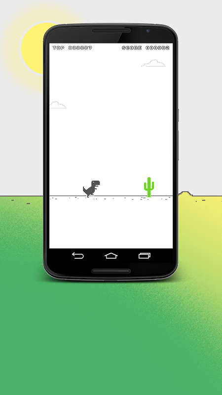 Android Chromasaur Save the dinosaurs Screen 1