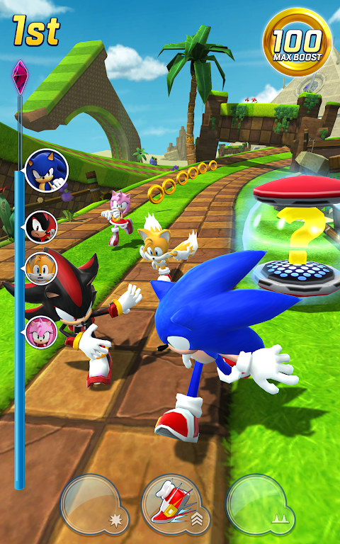 Android Sonic Forces Screen 2