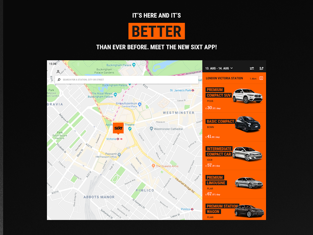 Android Sixt - Rent a Car Screen 5