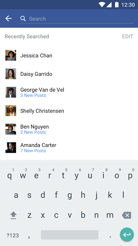 Facebook 122.0.0.0.39 Screen 3