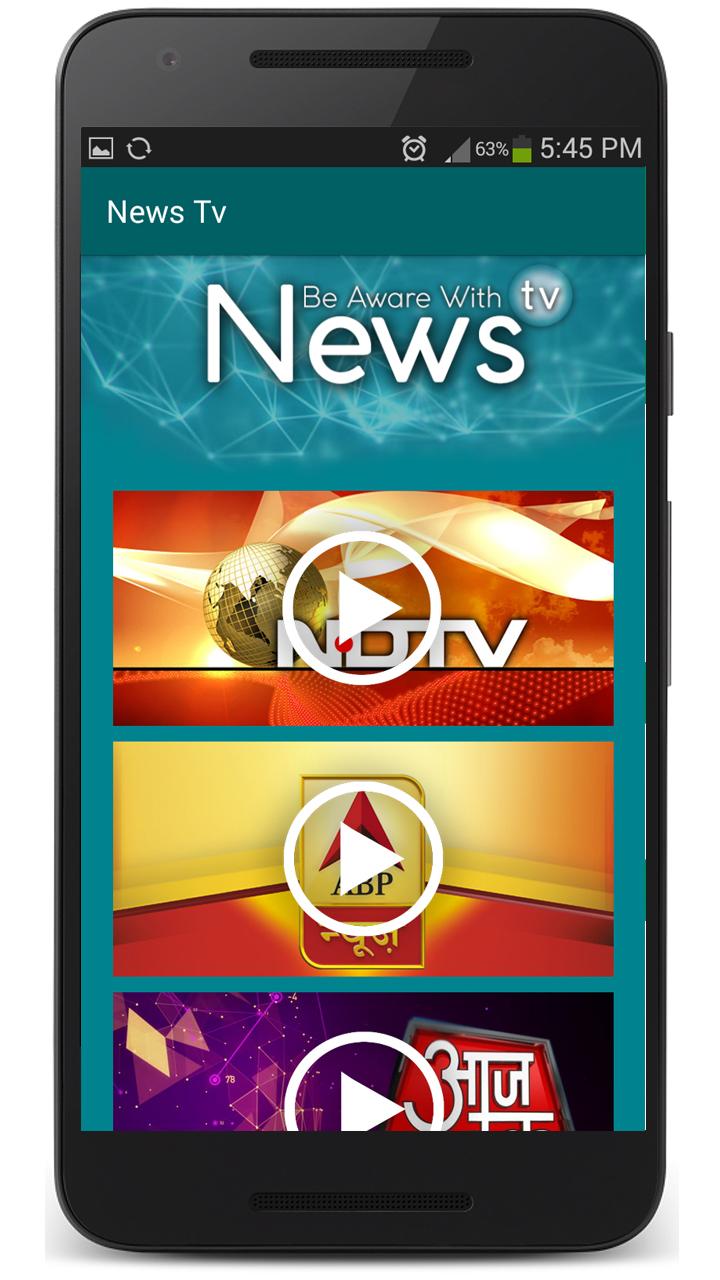 News TV IND & PK 1.1 Screen 2