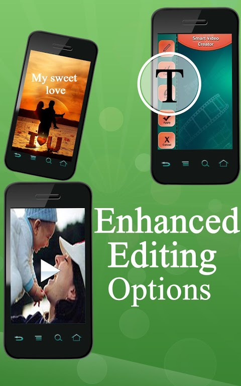 Android Smart Video Creator Screen 1