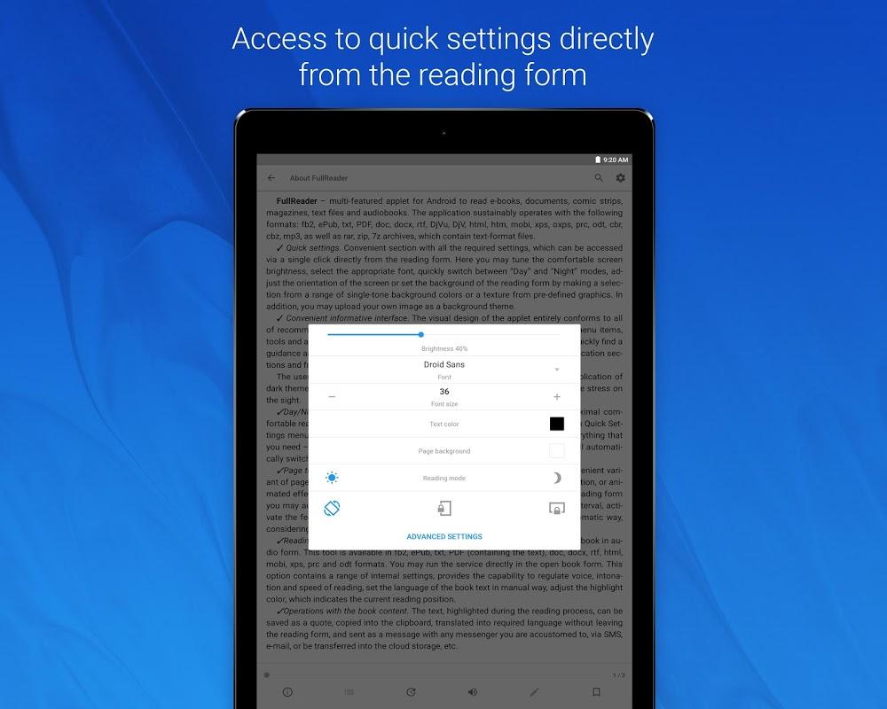 FullReader – e-book reader 4.0.4 Screen 14