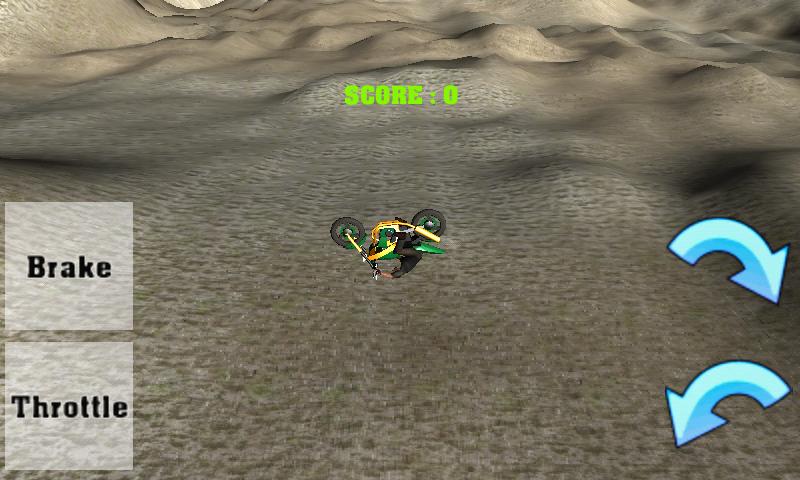 Android Desert Bike Stunt Screen 1
