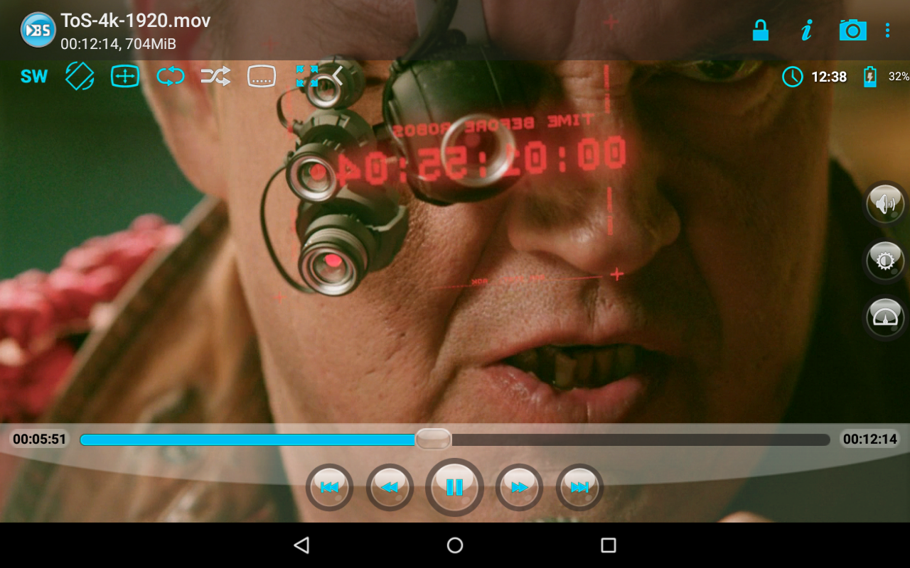 Android BSPlayer Screen 10