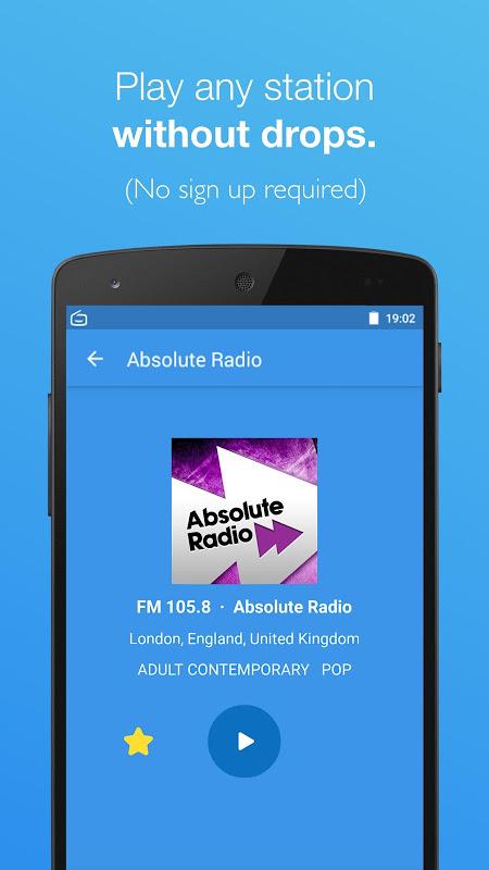 Simple Radio - Free Live FM AM Radio & Music 2.6.2 Screen 1