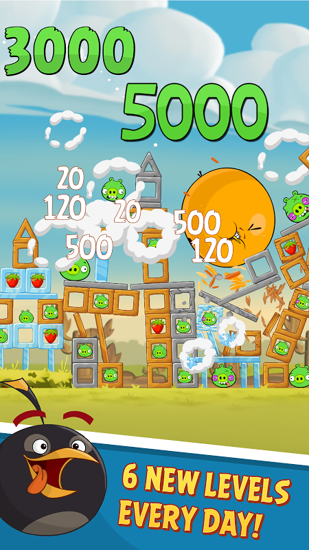 Android Angry Birds Screen 14