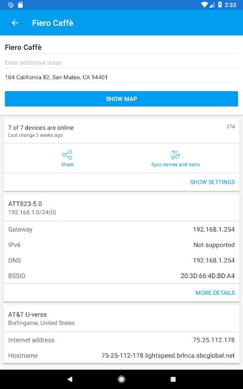 Fing - Network Tools 7.3.1 Screen 17
