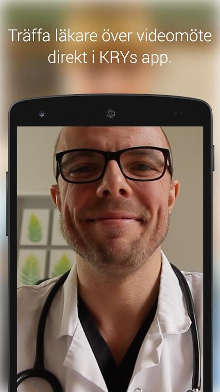 KRY - Läkarbesök i mobilen 2.3 Screen 2