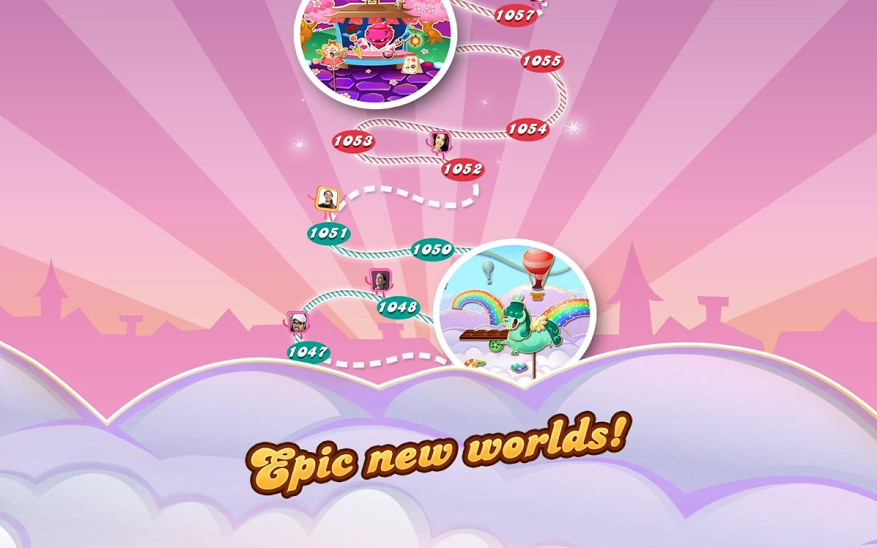 Android Candy Crush Saga Screen 17