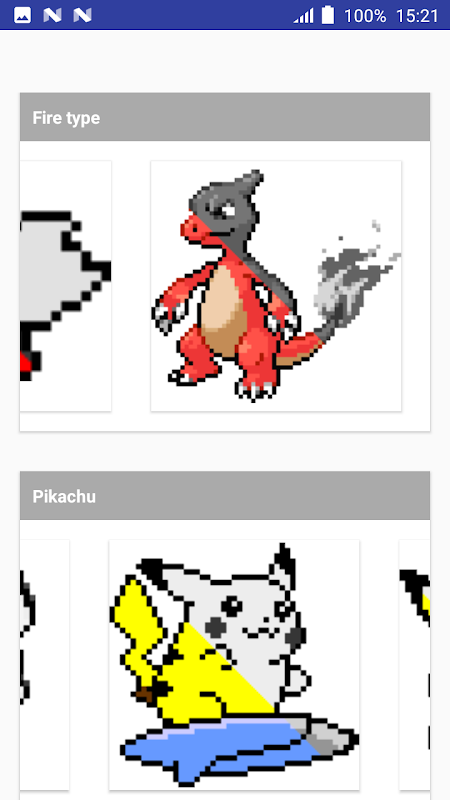 Android Color by Number Pokemon Pixel Art Screen 5