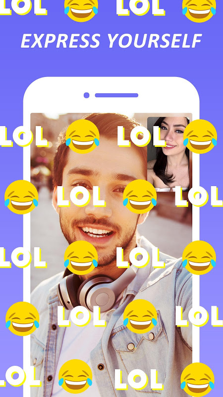 Android HOLLA Live: Meet New People via Random Video Chat Screen 3