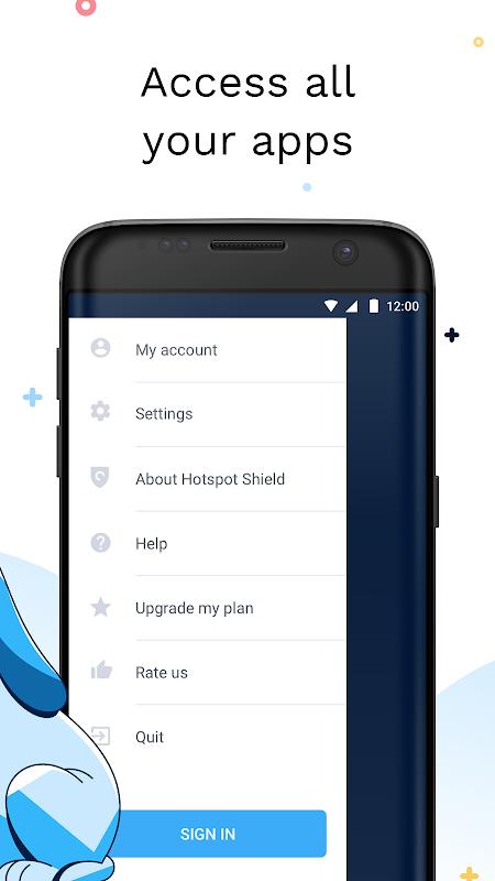 Android Hotspot Shield Screen 3
