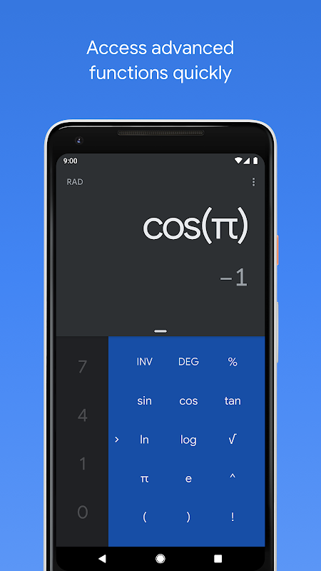 Android Calculator Screen 8