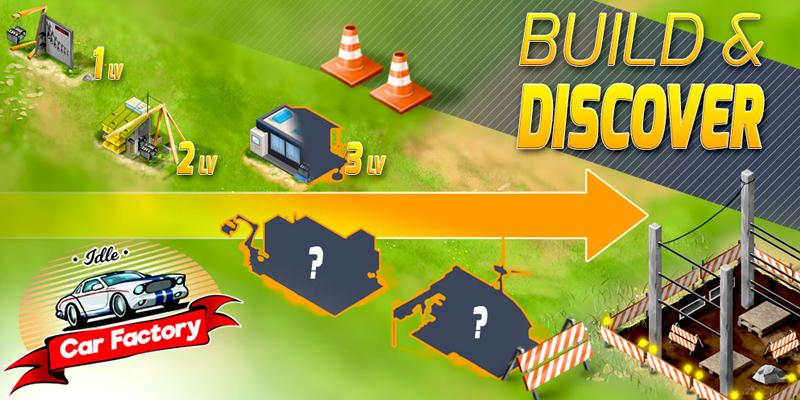 Android Idle Car Factory Screen 1
