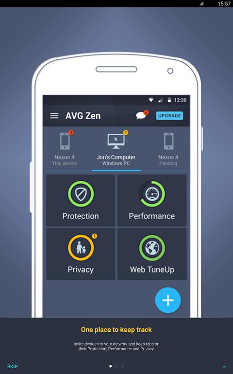 Android AVG?Zen Screen 8