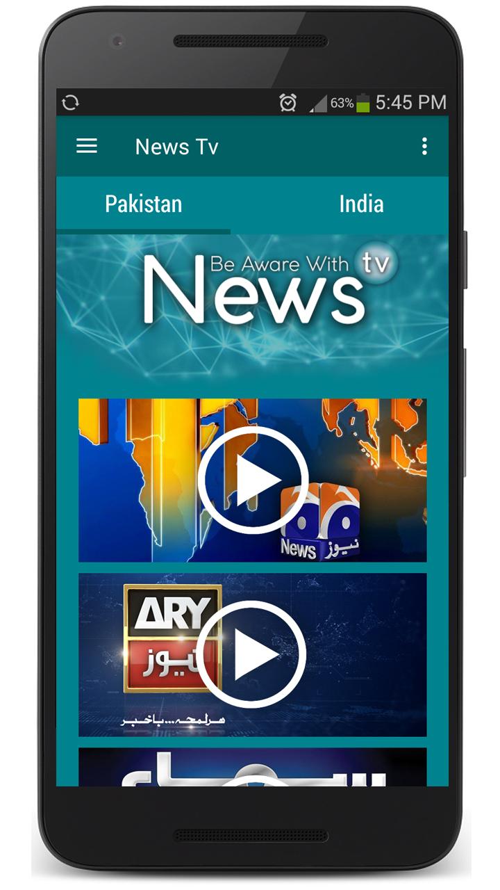 News TV IND & PK 1.1 Screen 1