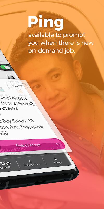 Ryde Driver 1.0.50 Screen 4