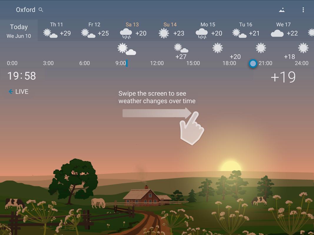 Precise Weather YoWindow 1.33.17 Screen 6