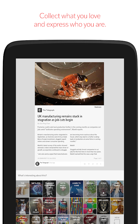 Android Flipboard: News For Any Topic Screen 10