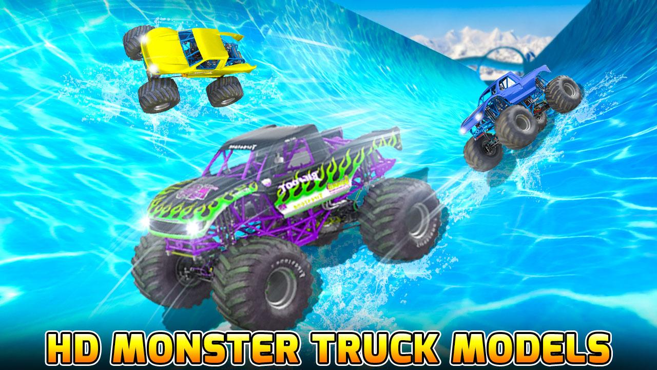 Android Water Slide Monster Truck Race Screen 4