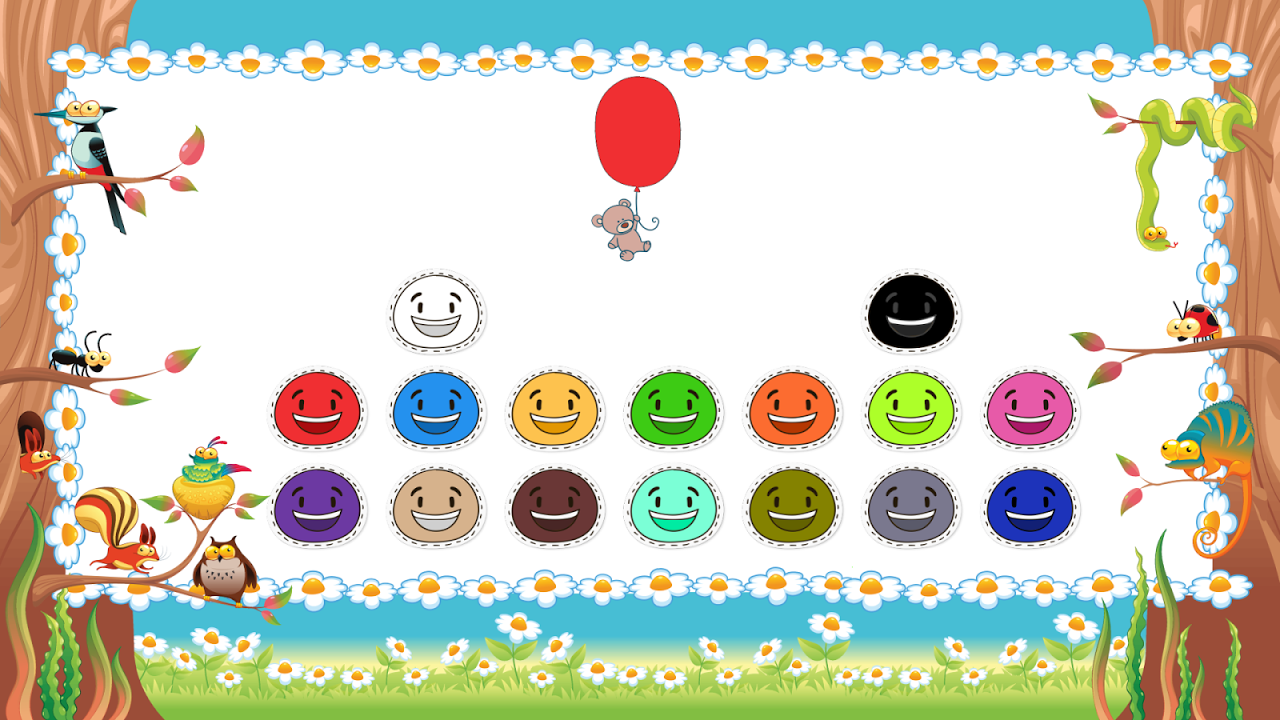 Android Toddler Colors Learning - Kids Educational Game Screen 2