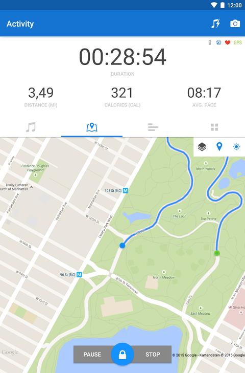 Runtastic PRO Running, Fitness 7.5.1 Screen 17