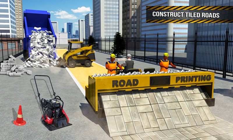 Pothole Repair Heavy Duty Truck: Road Construction 1.3 Screen 2