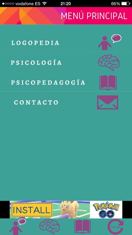 Psicología y Logopedia 5.0.0 Screen 1