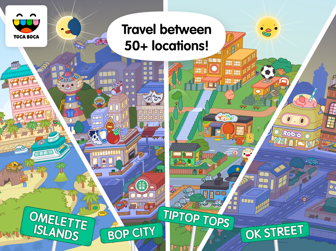 Toca Life: World 1.0.4 Screen 1