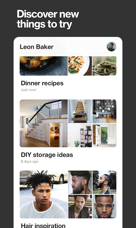 Android Pinterest Screen 4