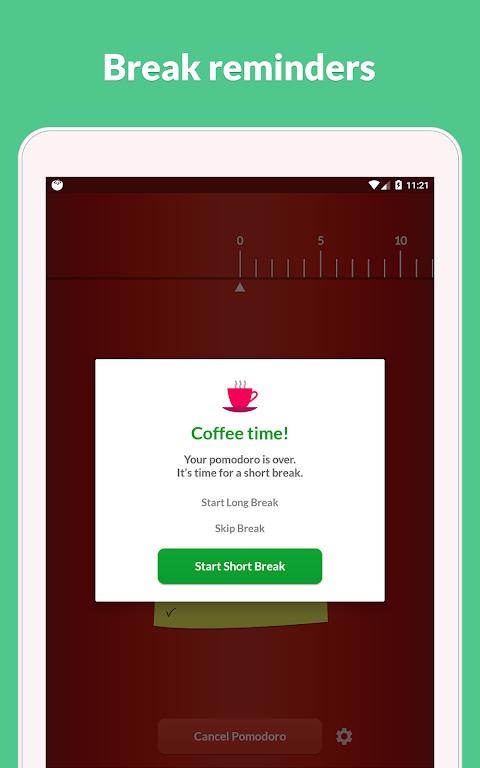 Pomodoro Timer Lite 2.3.0 Screen 2