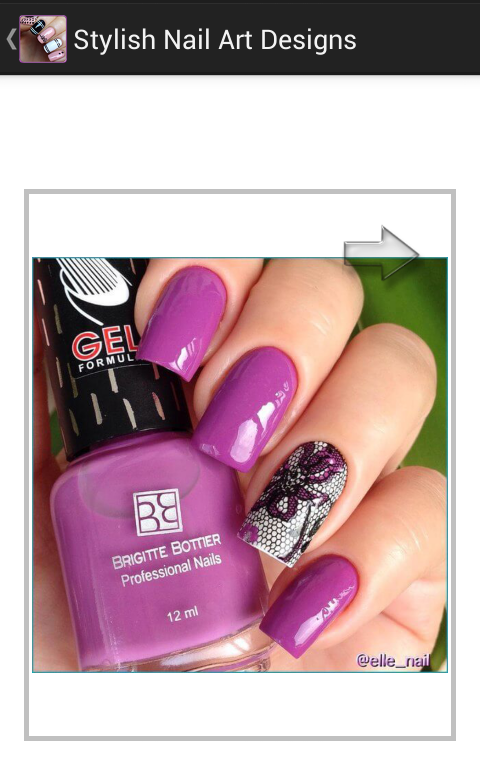 Stylish Nail Art Designs 1.0 Screen 1
