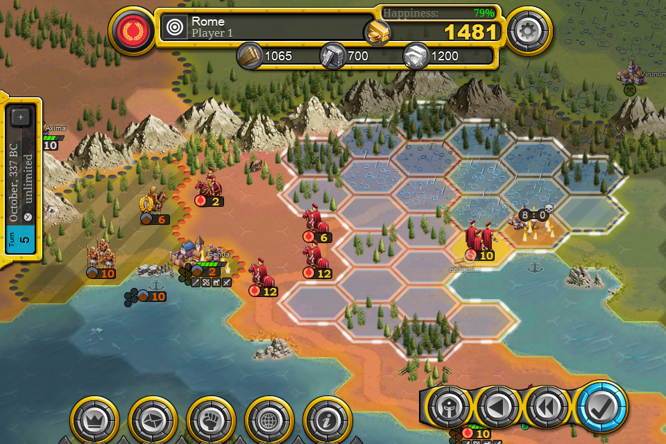 Demise of Nations 1.12.81 Screen 1