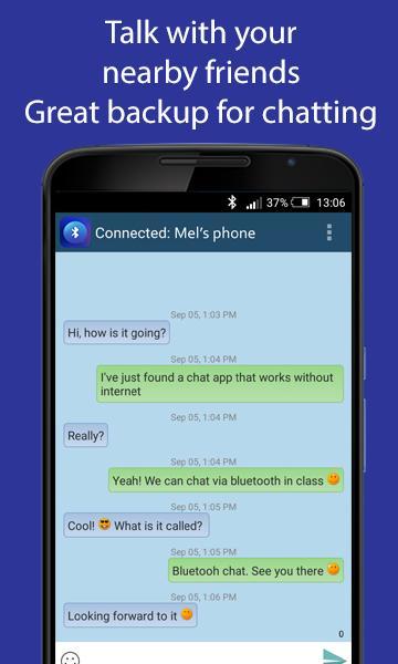 Bluetooth Chat 1 3 9 2 APK Download by Balint Farago