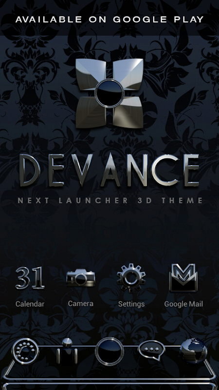 DEVANCE Poweramp skin 3.08 Screen 4