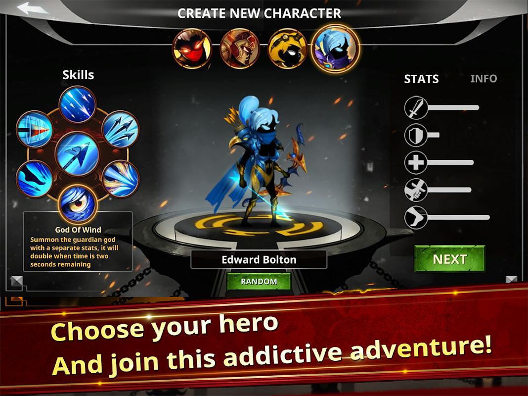 Android Stickman Legends - Ninja Warriors: Shadow War Screen 2