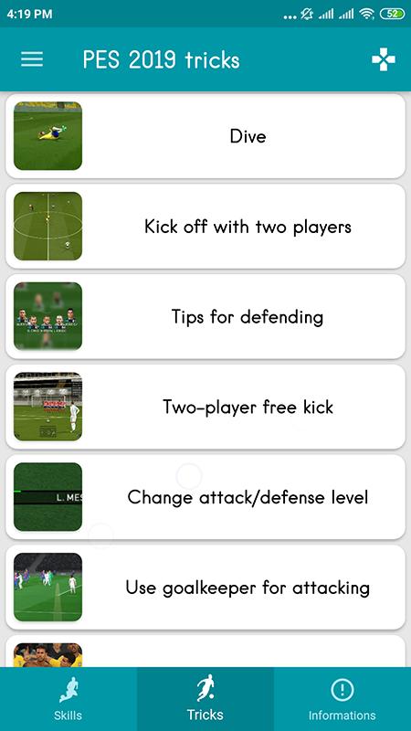 PES 2019 Skills + Tips & Tricks APKs | Android APK