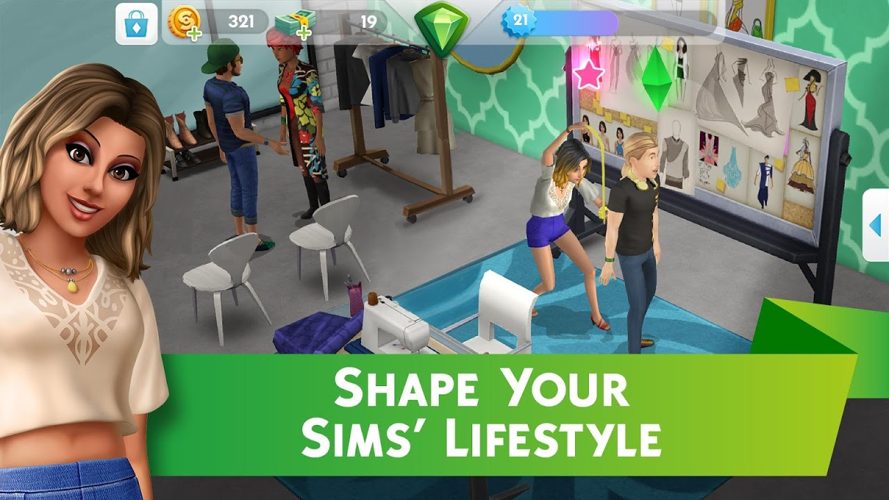 The Sims™ Mobile 12.3.0.208251 Screen 2