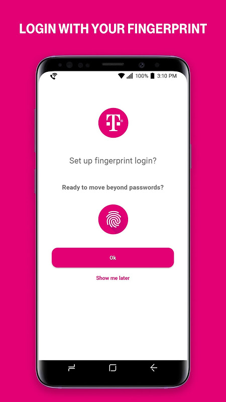 T-Mobile 7.6.0.62 Screen 2