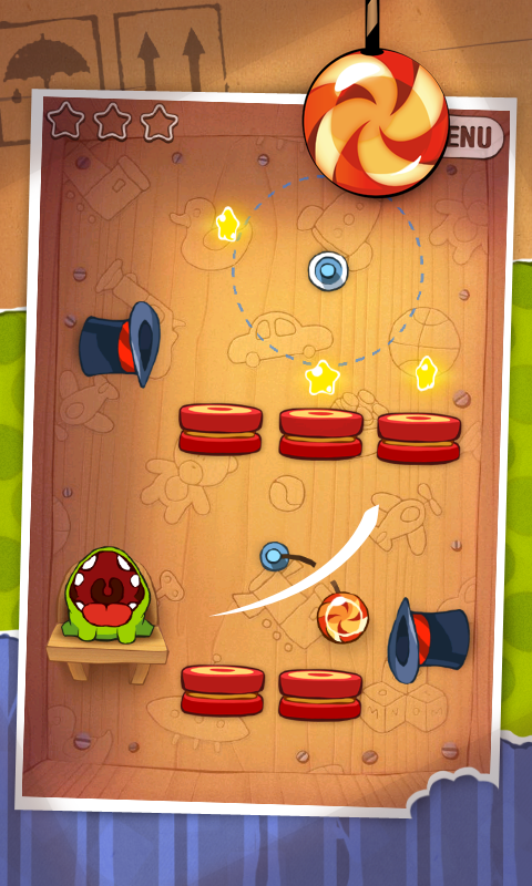 Android Cut the Rope FULL FREE Screen 3