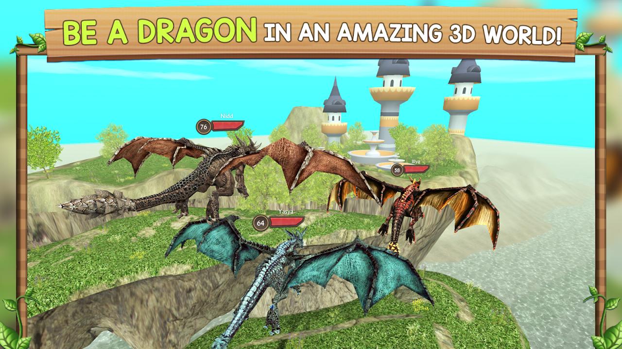 Dragon Sim Online: Be A Dragon 6.1 Screen 3